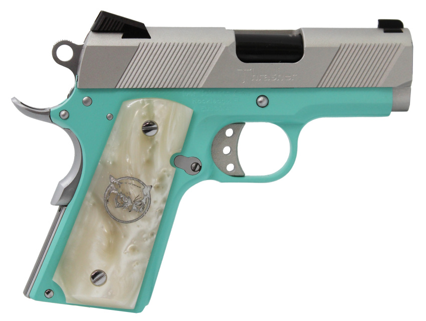 Iver Johnson Thrasher Tiffany Blue 9mm